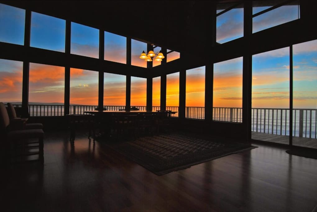 Sunset from The Great Room