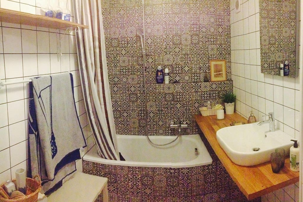 Our cool bathroom