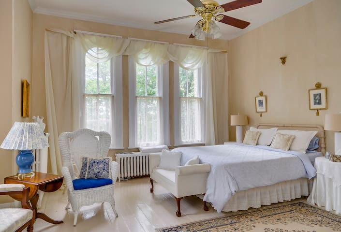 The Guest Room Listed here is the Fleming Room which is the 1st of our 4 Guest Rooms.