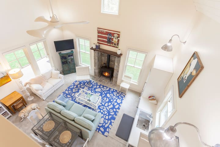 NEW+MODERN Farmhouse-NearTown,Beach,Trails.Dogs ok - Bainbridge Island - House