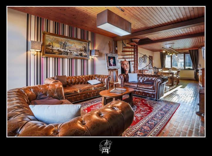 Country Guest House: D'Art et d'Ardoise