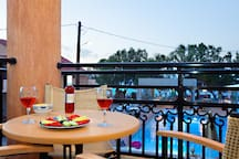 Apartment with Seaview - Alkionides Seaside Hotel