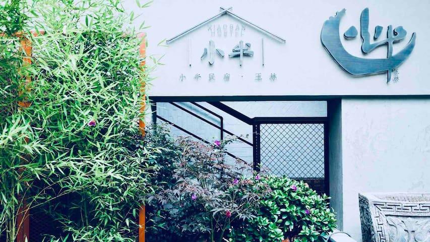 【小半&玉洁】管家式民宿/玉林路/原创音乐/小酒馆/私人定制mini专场音乐会/赠咖啡