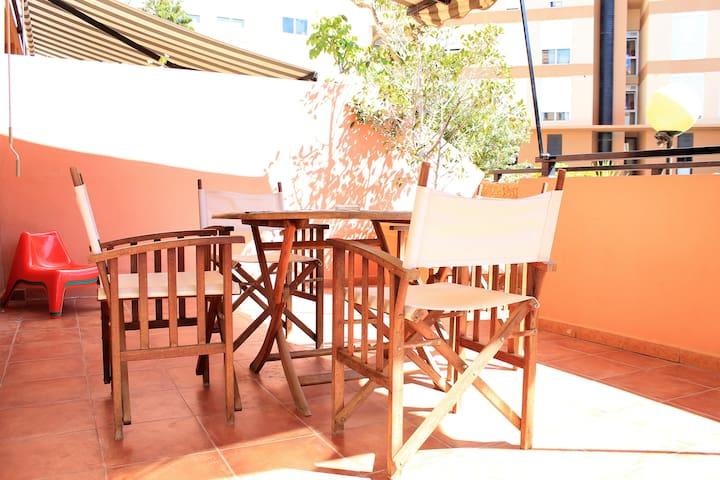 Duplex beach, 2 bedrooms, terrace & pool