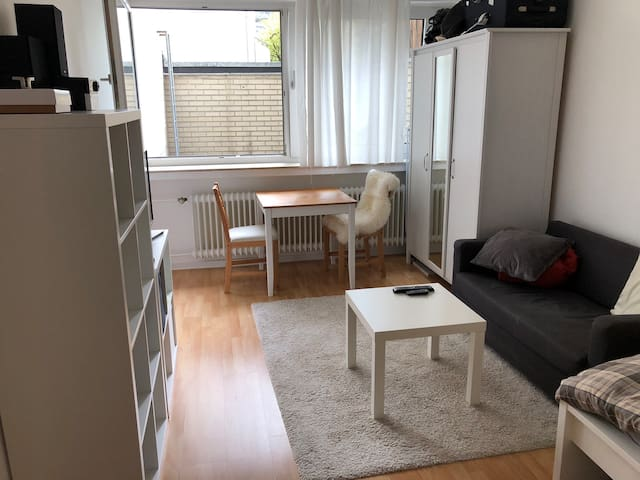 Studio centrally located in Westend, Frankfurt