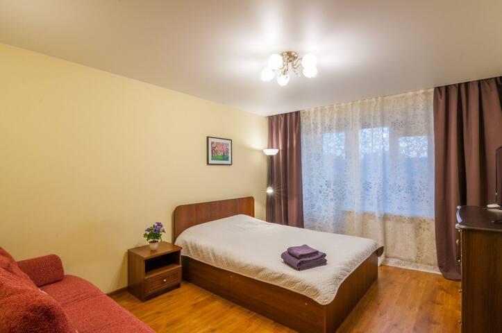 Новая квартира на Самарцева