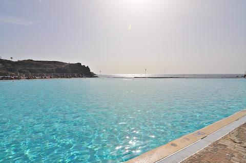 Appartement à Alborada avec vue sur l'océan