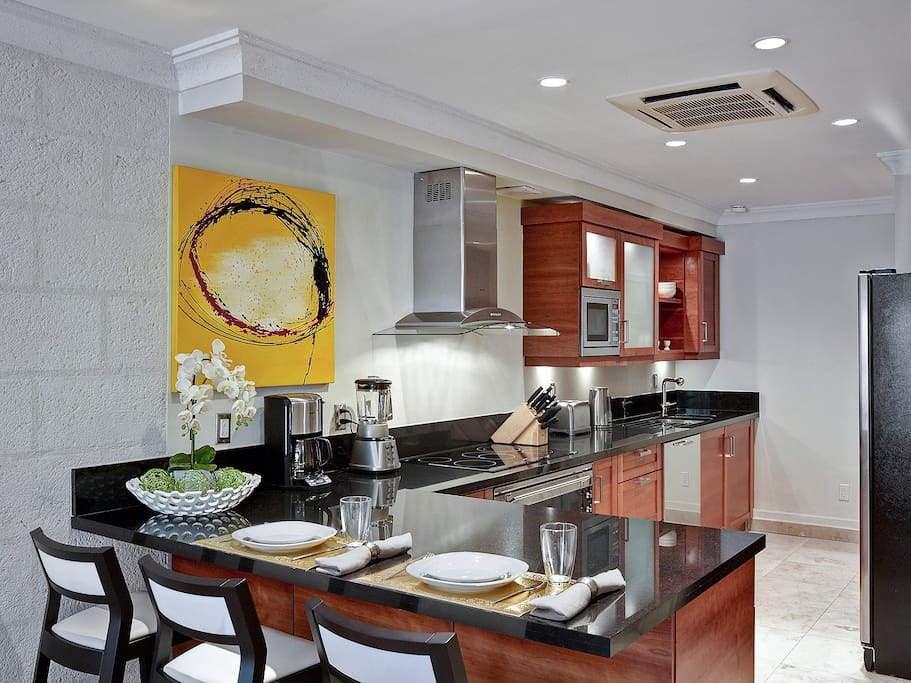 Equipped and modern kitchen