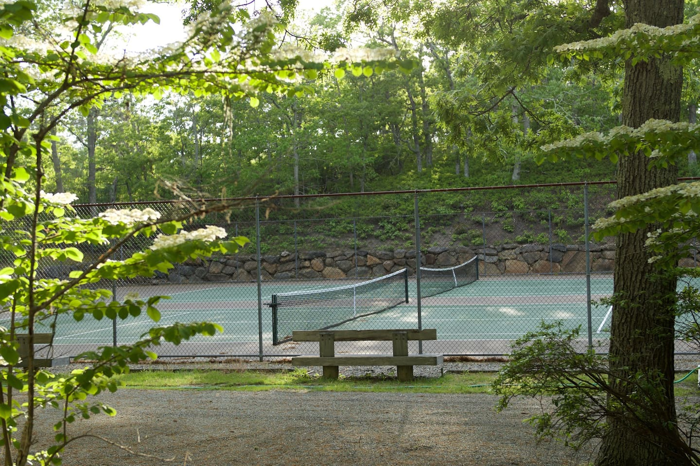 Development tennis courts