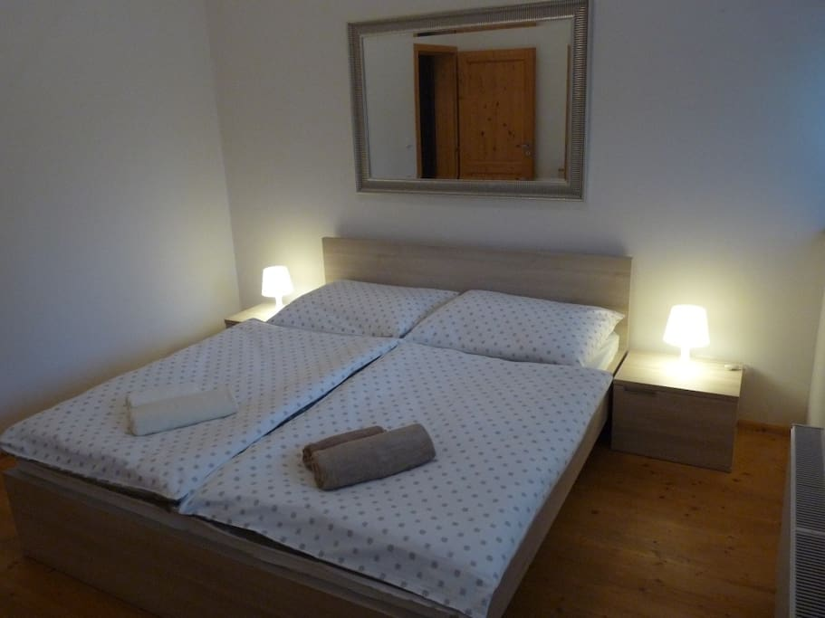 Bedroom king size bed