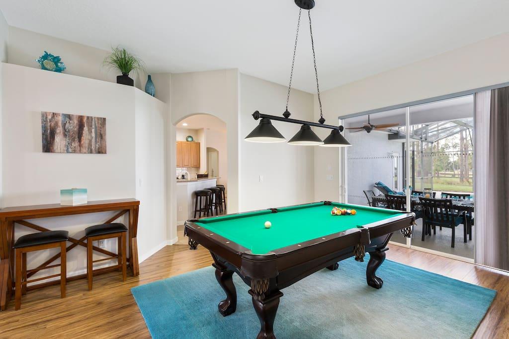 Games/Pool Room