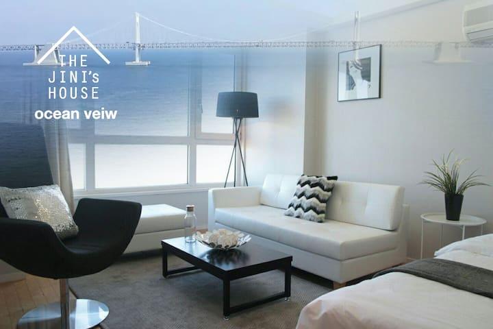 #08 [OPEN]광안리 오션뷰, 해변바로앞 OceanView /Beachfront - 부산광역시 - Appartement