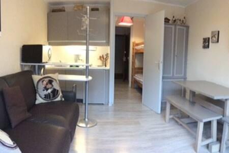 Studio rénové chatel linga 4 pers - Châtel - 公寓