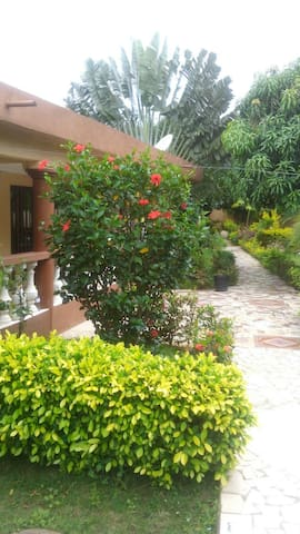 Belle residence tropicale