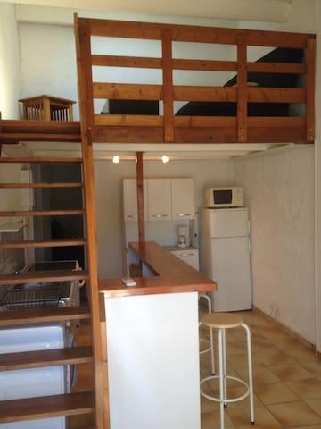 T2 attenant a villa 40 m2 avec jardin privatif