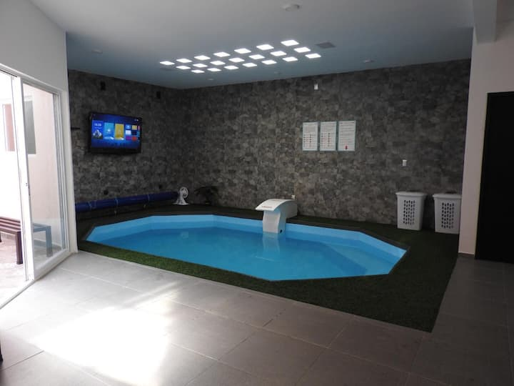 House with Indoor Pool & Grill