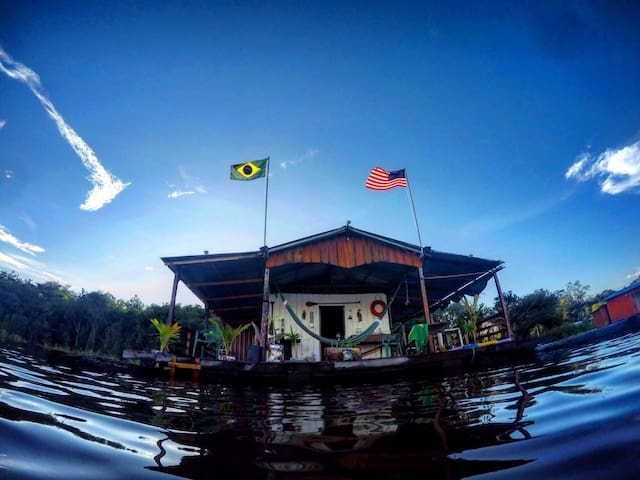 Floating House (House Boat) - Manaus - Chalet