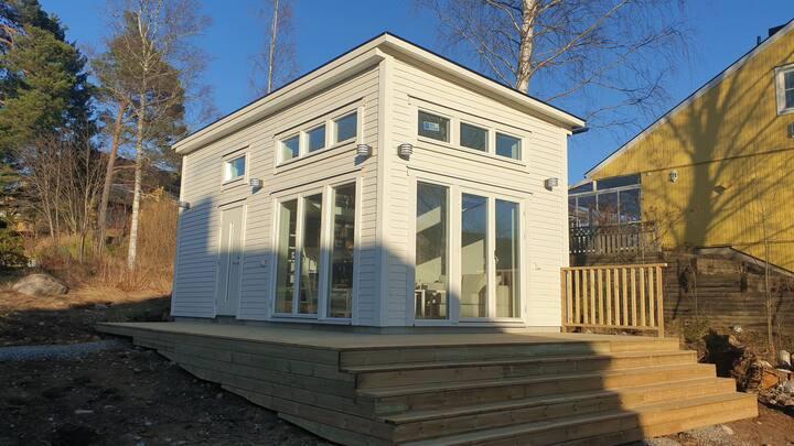 Heltnybyggt hus på totalt 42 kvm