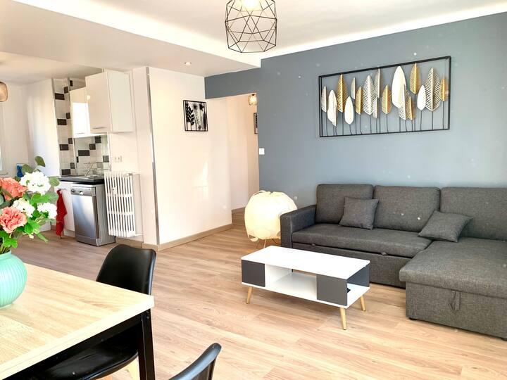 Joli appartement entièrement rénové