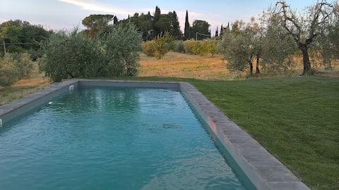 Poderi in Chianti, old loft close to Florence.View