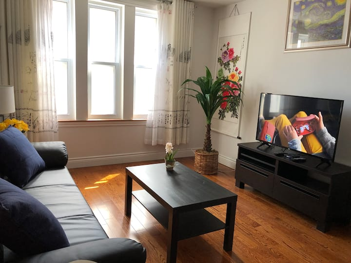 Chinatown and little Italy,2nd floor duplex,1 Br