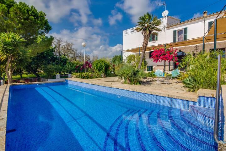 Mestay: Finca mit Pool für 6 Personen, Klimaanlage - Búger - Casa
