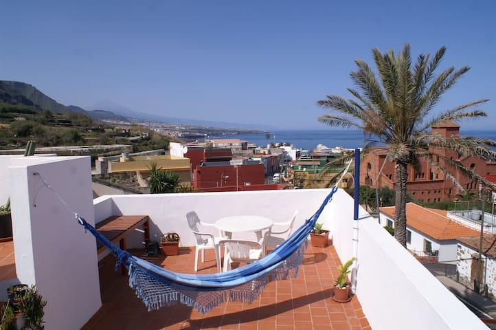 Holidays home in Punta del Hidalgo.Tenerife