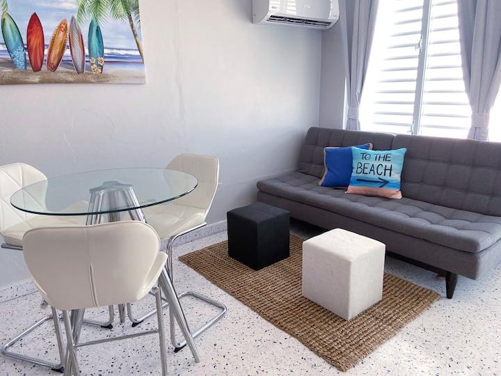 """New"" Modern Beach Apartment at Jobos"