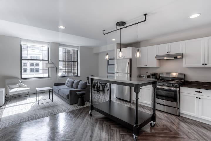 Historic Motor City Apartment with Modern Flair
