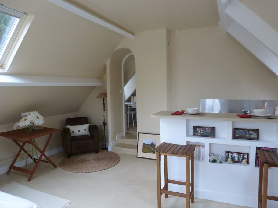 renovated studio near paris houses for rent in vaucresson le de france france. Black Bedroom Furniture Sets. Home Design Ideas