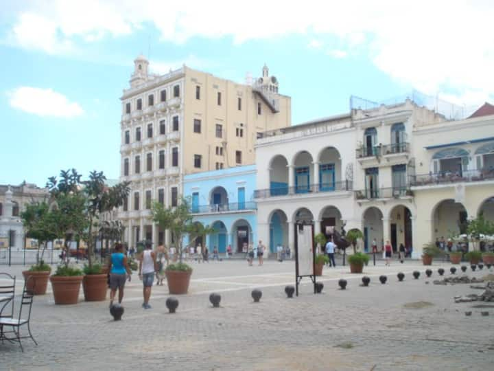 Apartamento  Ideal  en  La Habana Vieja + WIFI