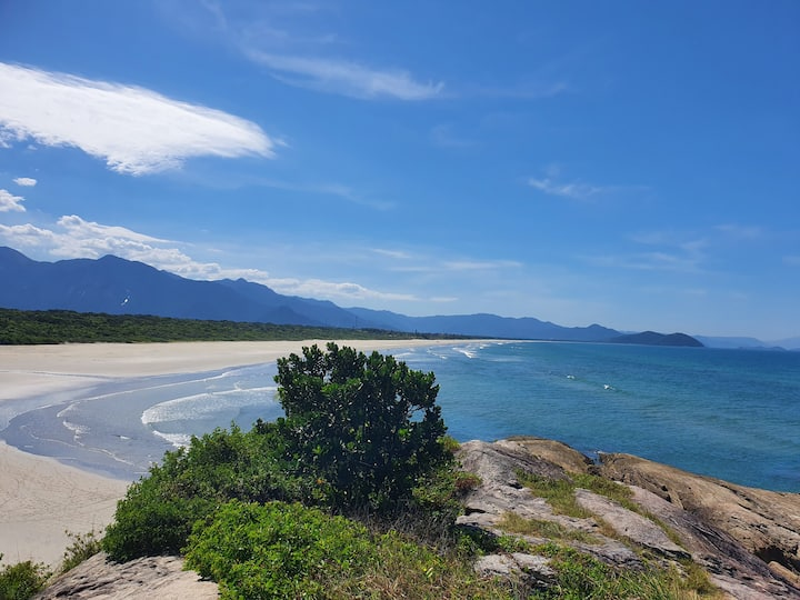 Casa de praia em Boraceia, mas ao lado das mais $
