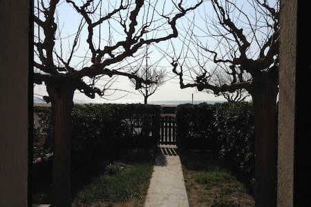 Maison front de mer, deux jardins - Valras-Plage
