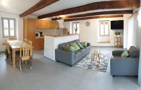 Komplett-renovierte 4.5 Zimmerwohnung im Bleniotal