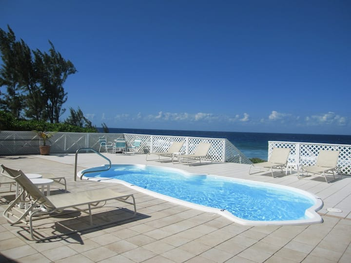 Cayman Coast Escape - Oceanfront Home with Pool