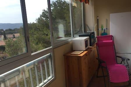 Beau studio-cabine, terrasse à 150M de la plage - Saint-Mandrier-sur-Mer - Kondominium