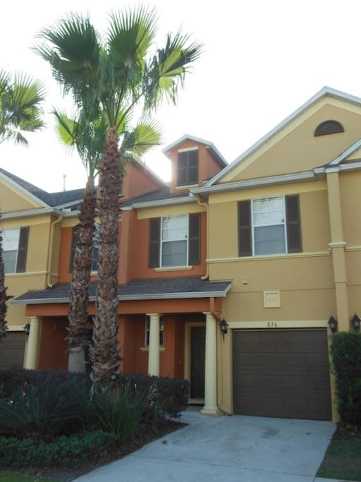 Reunion Resort 3 Bedroom Golf Front Town Home Houses For Rent In Kissimmee Florida United