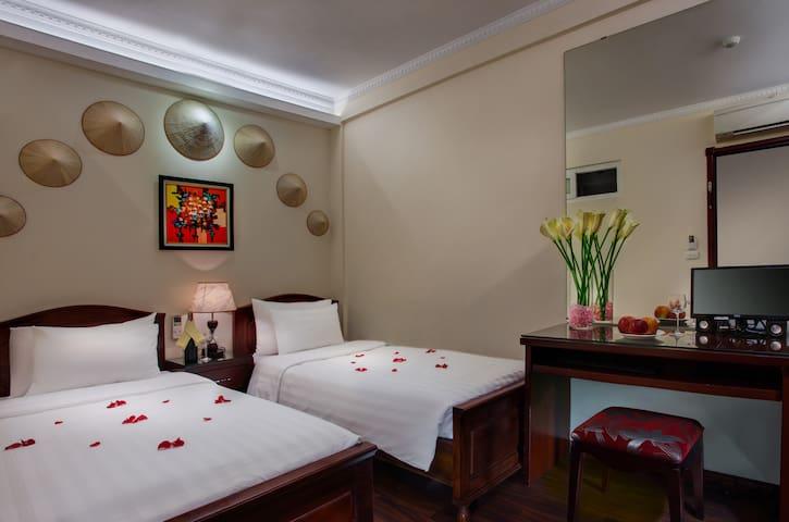 TWIN-BED ROOM in Hanoi' Old Quarter - Hanoi - Bed & Breakfast