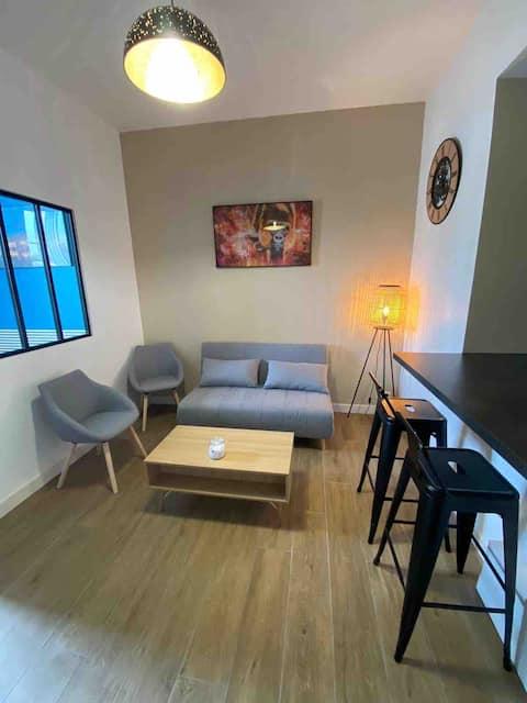 Appartement Honfleur centre avec cour privative