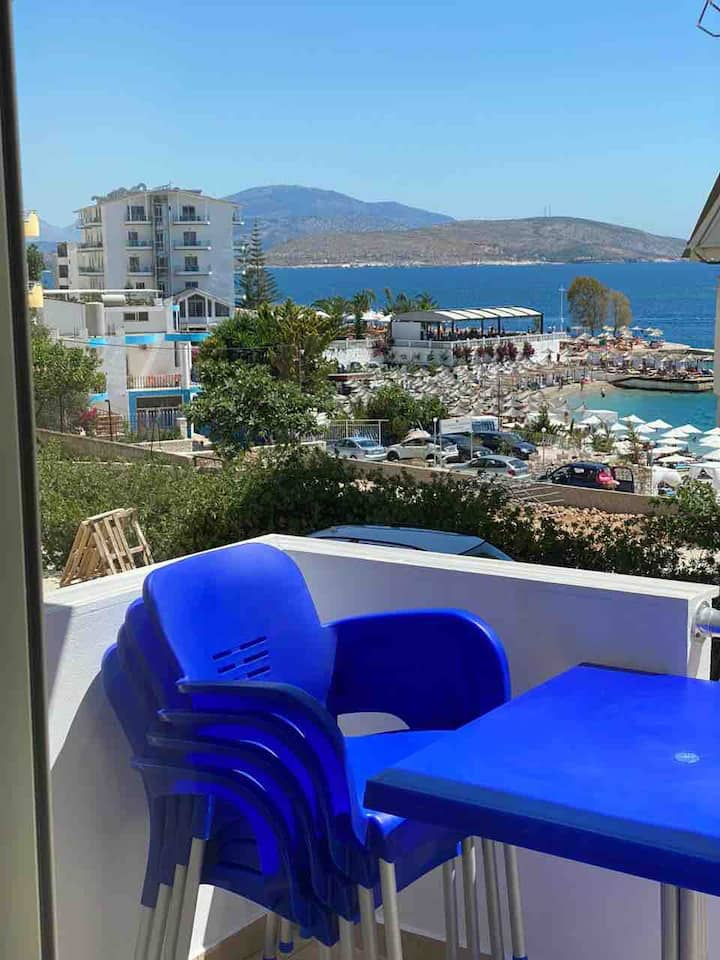 """Hard Rock Apartment sea view on the Ionian Coast"""