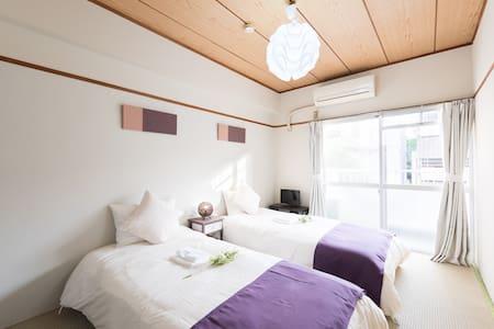 Nice Japanese-style room near to IKEBUKURO /TW54 - Toshima-ku