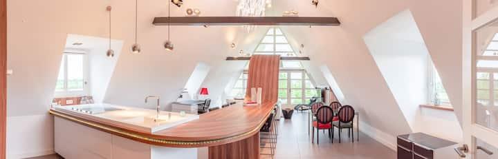 Luxueuze villawoning op landgoed