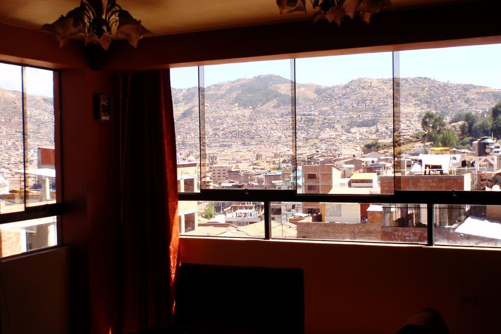 Amazing View from our apartment _ Vista espectacular desde nuestro departamento