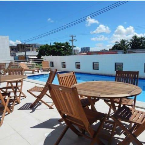Apartamento confortável na Praia de Jatiúca