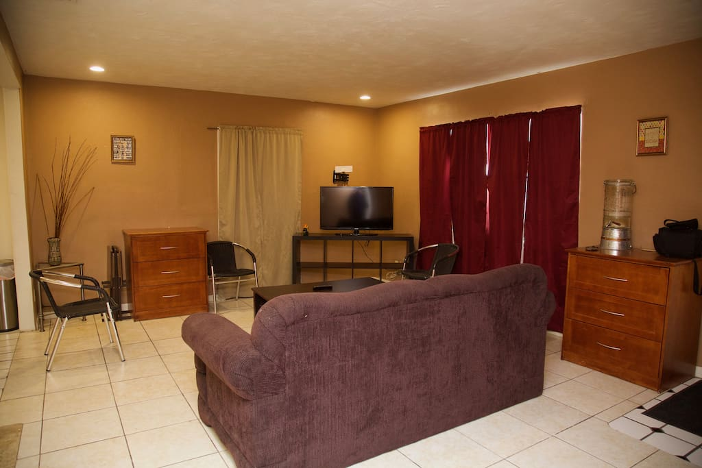 Living room area!