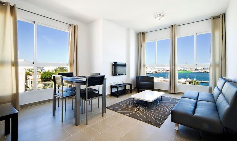 Apartamento 1 dormit. vistas puerto - El Grao de Castellón
