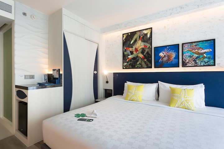 Stylish and Comfy Room opposite Patong Beach