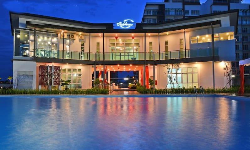 FuLove Homestay 简·舍 Garden View @P'Residence Emart