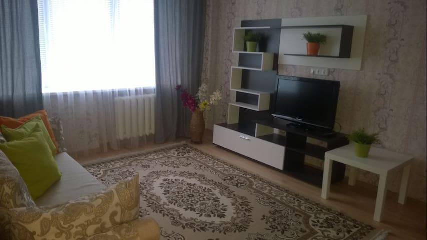 Уютная однакомнатная квартира в Минске