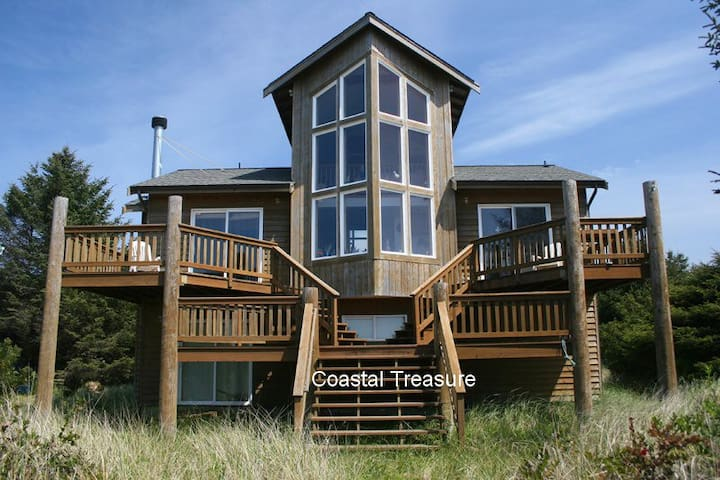 Coastal Treasure - Ocean Front Home